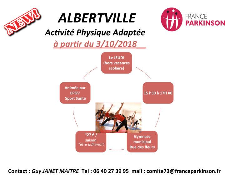 Activité physique adaptée à Albertville